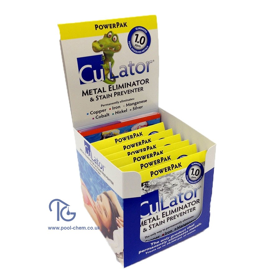 CuLator PowerPak 1.0 Trade Pack 6 Sachets