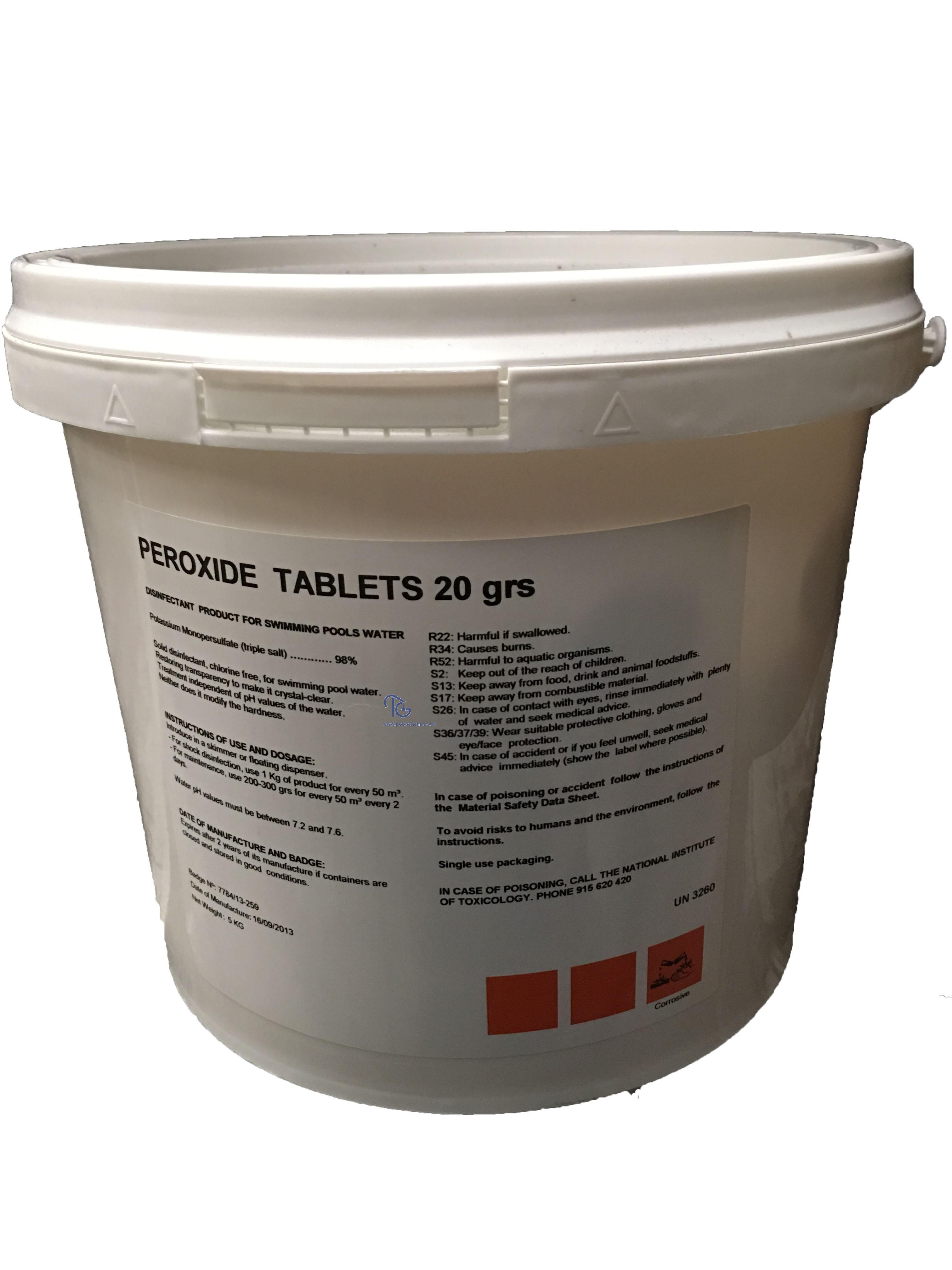 Peroxide Tablets
