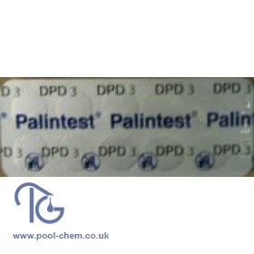 Palintest DPD 3 Photometer Testing Tablets For Total Chlorine - 50 Tab Pack