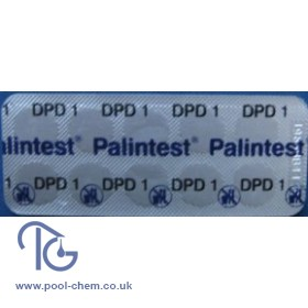 Palintest DPD Nos.1 Photometer Tablets (250 Tabs)