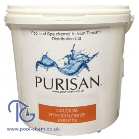 Purisan® Calcium Hypo Tablets - 5kg Pail