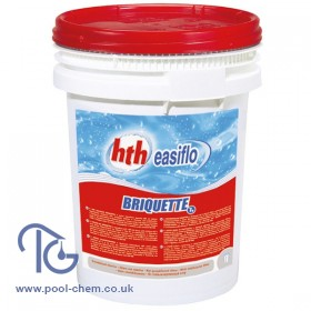 hth Easiflo Briquettes - (Calcium Hypochlorite) - 25 Kgs - CLICK & COLLECT or DELIVERY QUOTATION