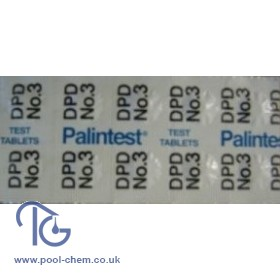 Palintest DPD Nos.3 Photometer Tablets (250 Tabs)