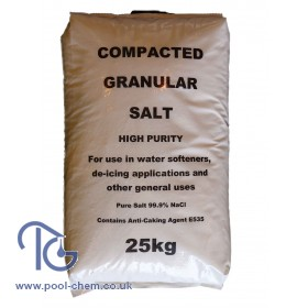Salt (Granular) - 25 Kgs Bag