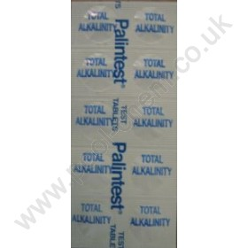Palintest Total Alkalinity (Alkavis) Comparator Tablets (250 Tabs)
