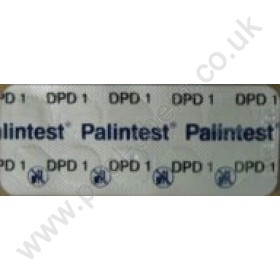 Palintest DPD 1 Photometer Testing Tablets For Free Chlorine - 50 Tab Pack