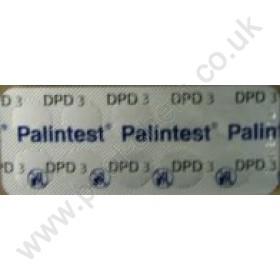 Palintest DPD No.3 Comparator Tablets (250 Tabs)