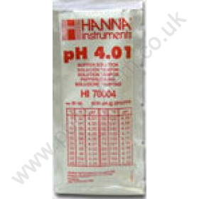 Hanna 4.01 Buffer Solution for pH Meters (Sachet Pack)